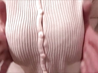 big boobs under a tight vest compilation