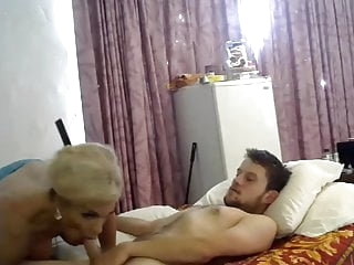 Busty Shemale gives her BF a Nice Ride