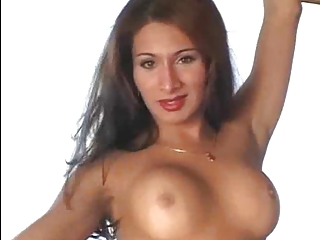 sexy t-girl playing