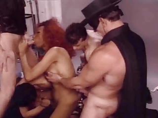 Tranny Hookers in Group Fun