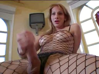 sexy shemale fishnet by opuntia