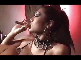 Cigar Smoking Dominatrix