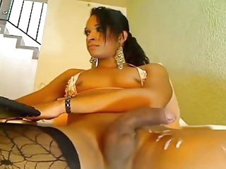 Small tit latin strokes-cums on cam
