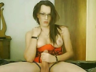 Shemale Beauty Wanking On Cam BVR