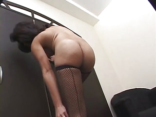 Tranny loves to suck cock