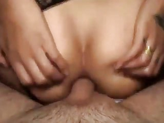 My mature bf fucking my little ass.