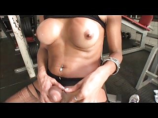 tranny with big cock cums