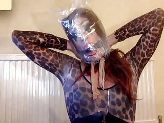 Kara Fetishdoll - Kitty Cat Poppers & Bagging