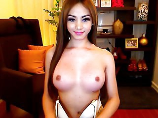 Gorgeous and Busty Shemale Cam Online