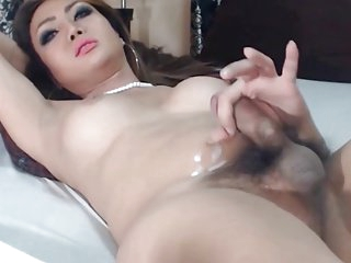 Asian Shemale Cums
