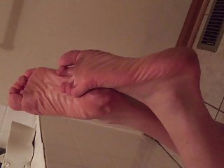 Shayna's Dirty Wrinkled Soles