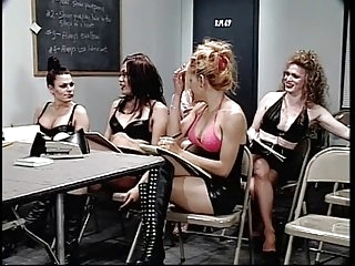 Bunch of sexy trannies learning how to hump