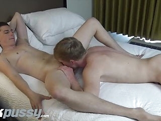 Sexy FTM gets fucked after swapping head with handsome jock