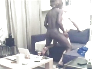 Black trans girl fucking her slave part two